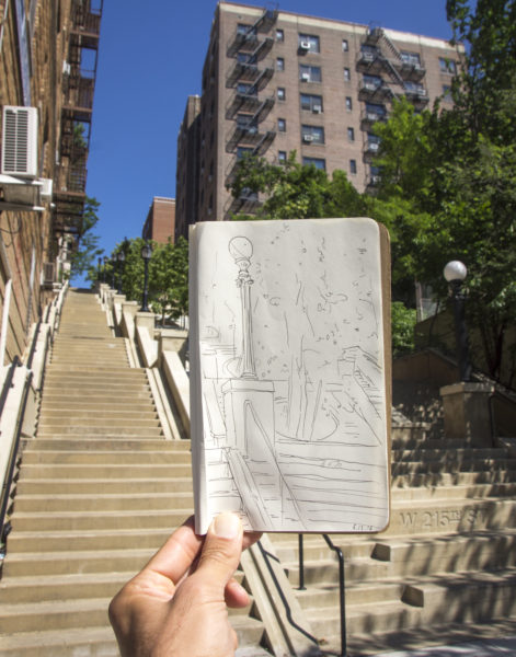 West 215th Street Stairs